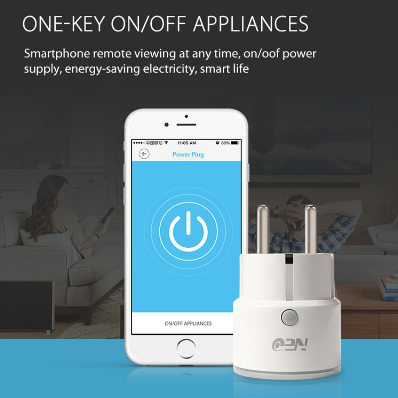 Smart WiFi Power Plug Home Appliance APP Remote Controller Timing Switch Control Accessories