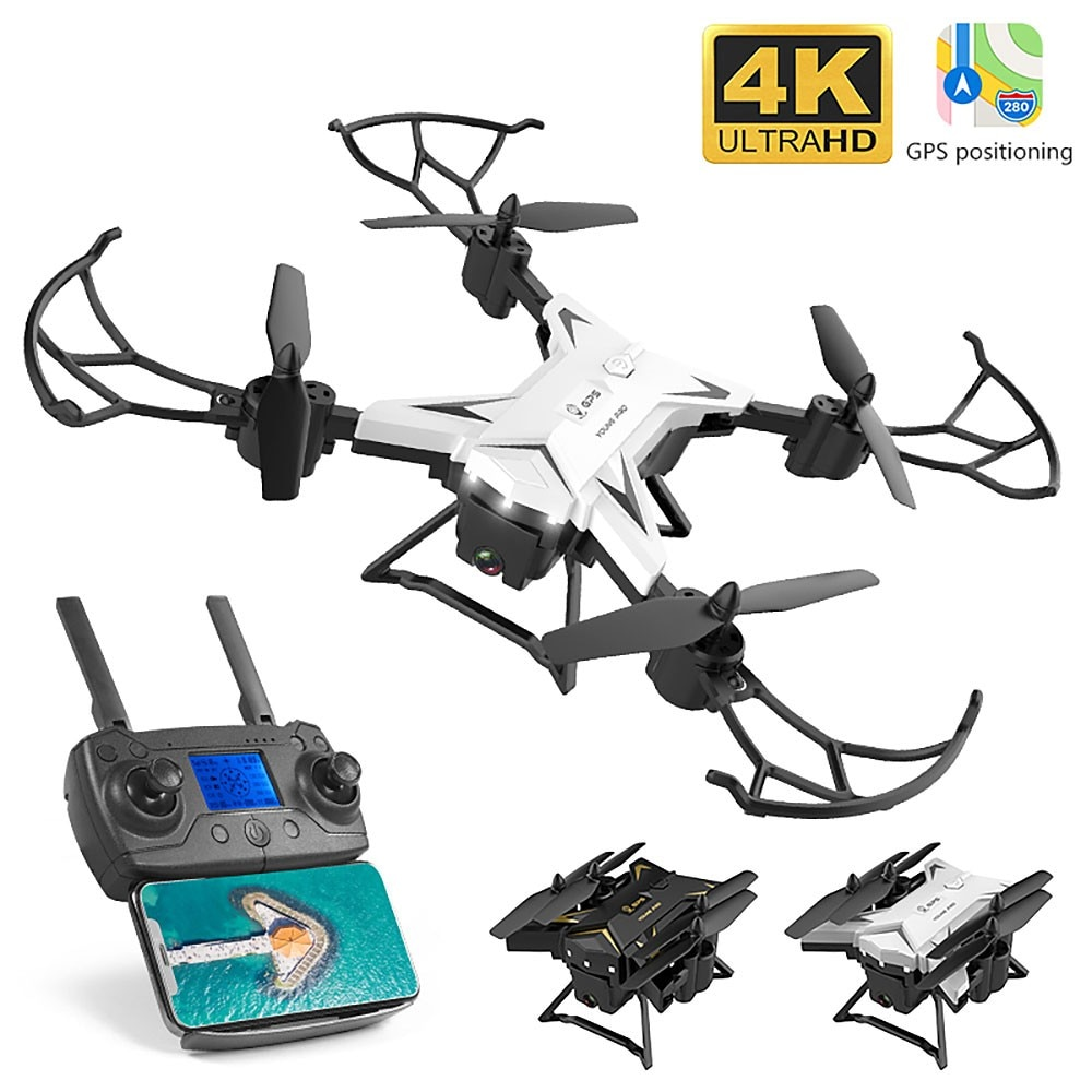 2021 NEW Drone GPS KY601G  Portable Folding 4K HD 5G WIFI FPV Positioning RC Airplane Quadcopter Remote Control Distance 2KM enlarge