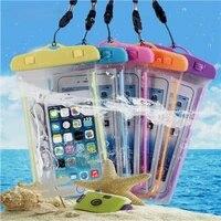 universele telefoon waterdichte pouch pvc clear smart phone case voor drift zwemmen duiken surfen strand clear mobiele telefoon