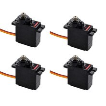 FLASHHOBBY D9025MG 14g Mini Metal Gear Analog Servo for RC Toy Car Boat Helicopter Airplane RC Robot