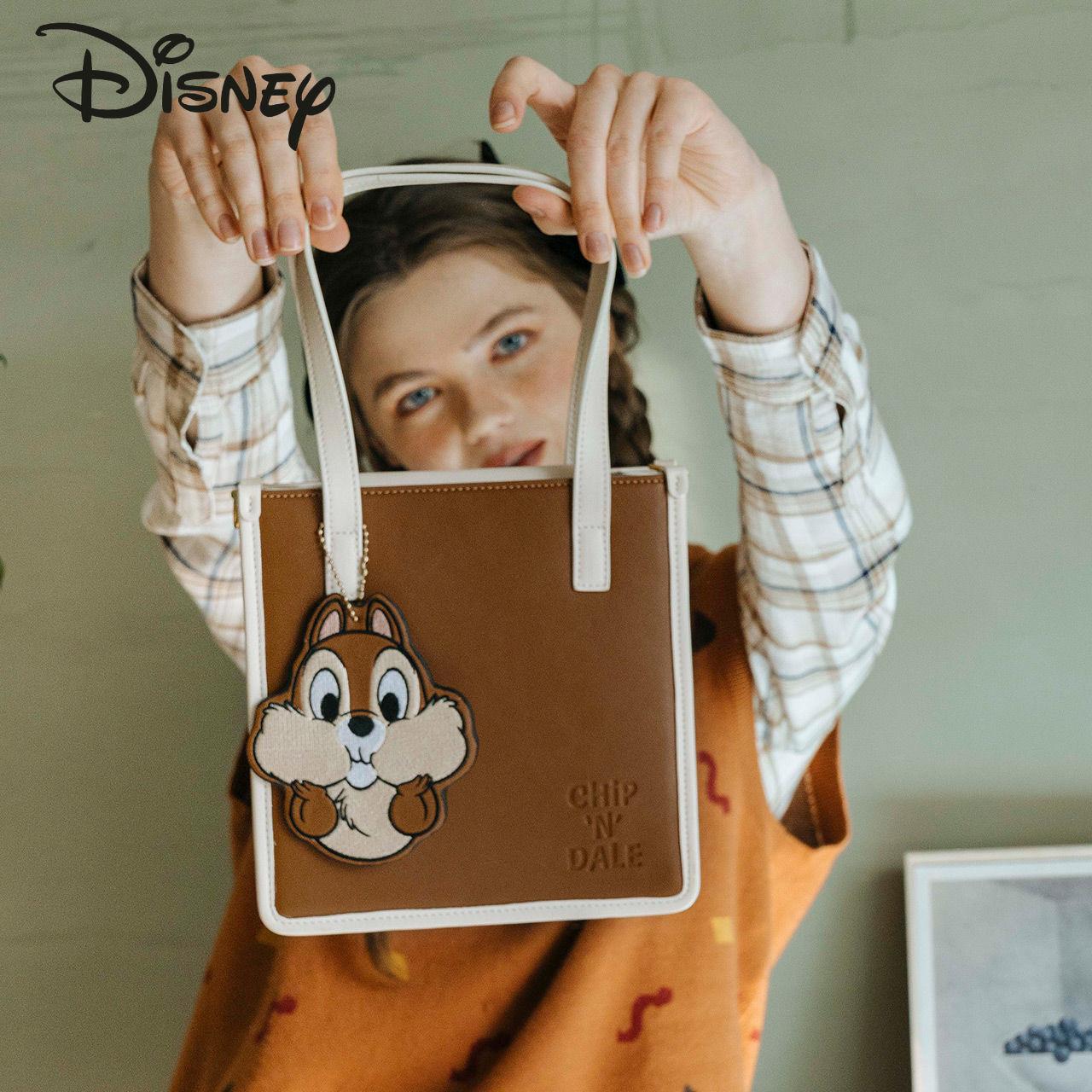 Disney New Cartoon Lady Handbag Large Capacity Fashion Casual High Quality Luxury Multifunctional Lady Shoulder Messenger Bag