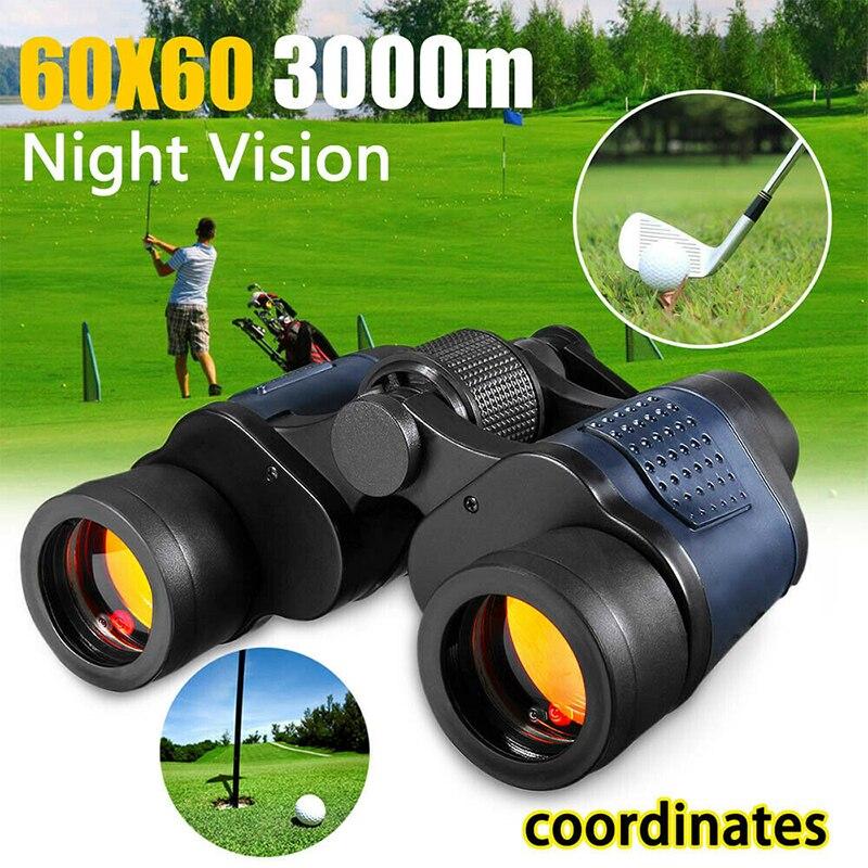 Binoculares de visión diurna/nocturna para exteriores, telescopio de alta definición con zoom...