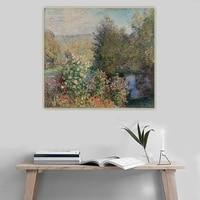 citon claude monet%e3%80%8athe corner of the garden at montgeron1876%e3%80%8bcanvas oil painting art picture background decor home decoration
