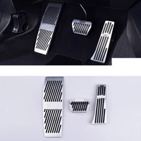 car accelerator pedal brake cover trims for bmw 4 series f33 f36 f32 f82 f83 m4 2013 2014 2015 2016 2017 2018 2019 2020 styling