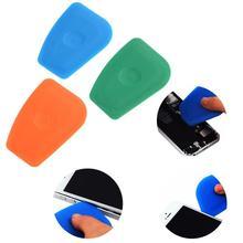 3 pièces plastique Pry carte coffre-fort ouvreur téléphone Mobile réparation LCD écran arrière logement batterie démonter outil bleu vert Orange