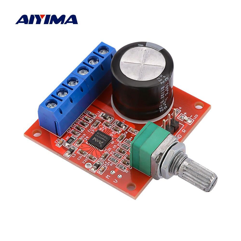 AIYIMA-placa amplificadora de potencia PAM8006A, 15Wx2, Amplificador de sonido estéreo con ajuste...