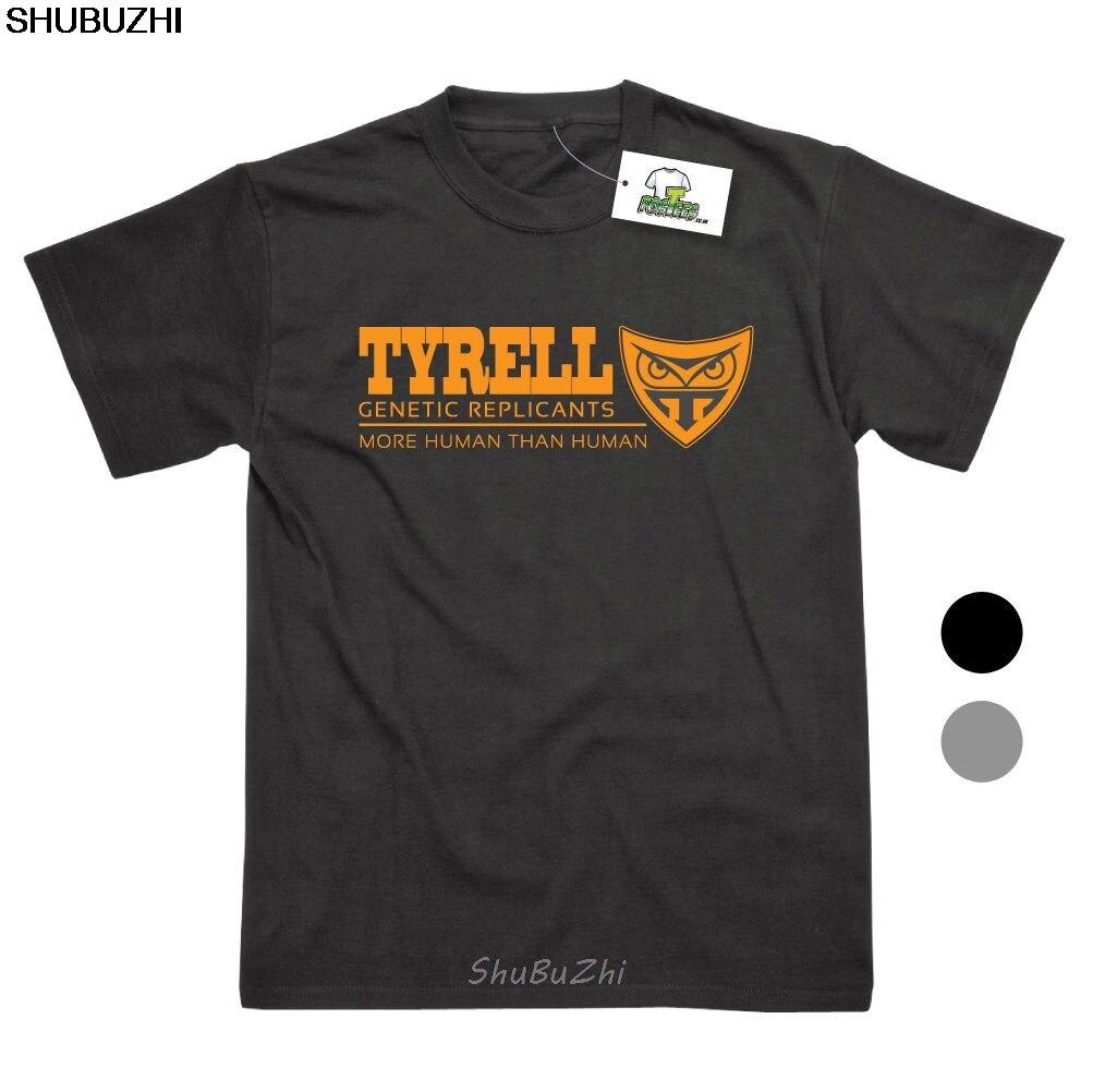 Tynell, réplicas genéticas inspiradas en Blade Runner, Camisetas estampadas, Top, Camiseta 100% de algodón, Humor para hombres, camisetas con cuello redondo sbz3341