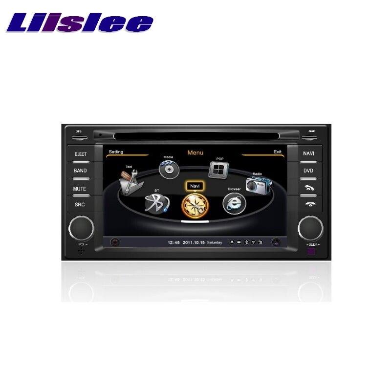 Для Subaru Foreste 2008 ~ 2013 LiisLee Автомобильный мультимедийный ТВ DVD GPS аудио Hi-Fi радио оригинальный стиль навигация Расширенный NAV NAVI карта