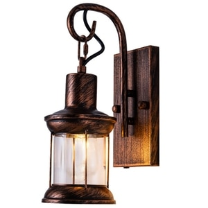 Retro Industrial Style Wall Lamp Bar Restaurant Nostalgic Aisle Wall Decoration Creative Personality Wrought Iron Lamps