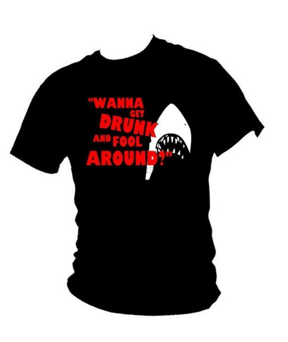 M & acircchoires - Classique 1975 Shark Film DHorreur Inspir & eacute Ellen Rod cita nueva camiseta de moda
