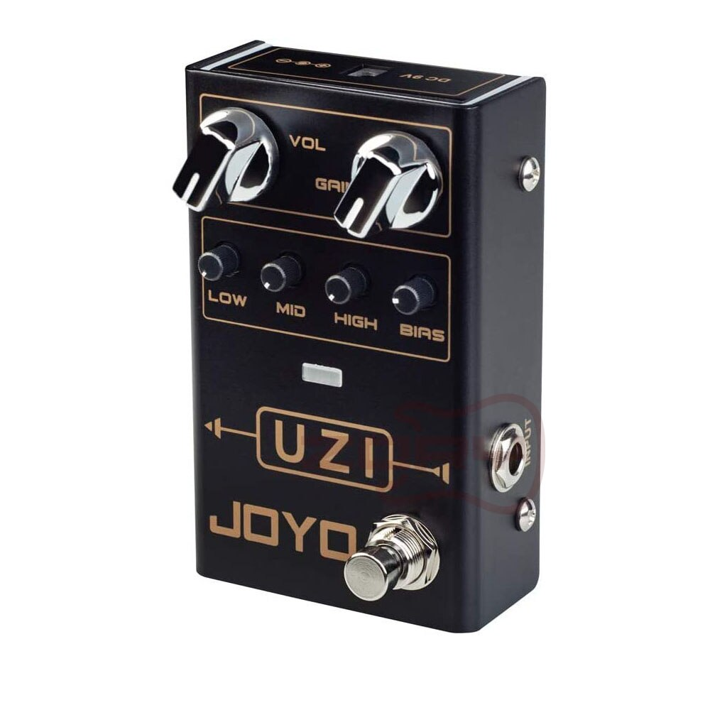 JOYO R-03 UZI Distortion Pedal Guitar Effect Pedal for Heavy Metal Music With BIAS Knob True Bypass Guitar Bass Accessories