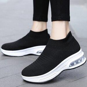 2021 Casual Shoes Fashion Mesh Woman Walking Shoes Woman White Sneakers Female Tenis Feminino Female Women Shoes