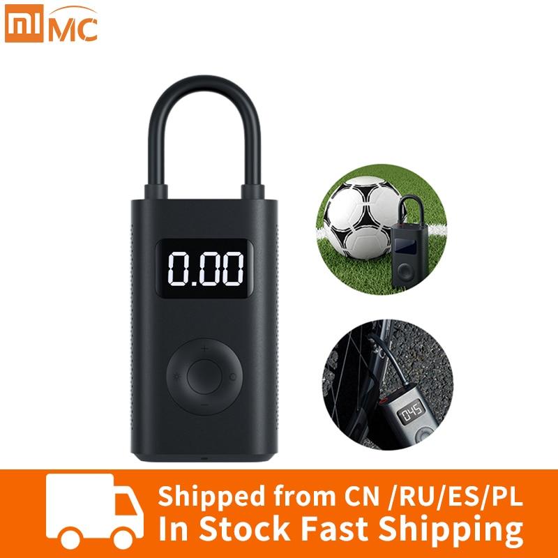 Detector de presión de neumáticos Xiaomi Mi Mijia, bomba de inflado de neumáticos portátil y Digital para motocicletas y coches