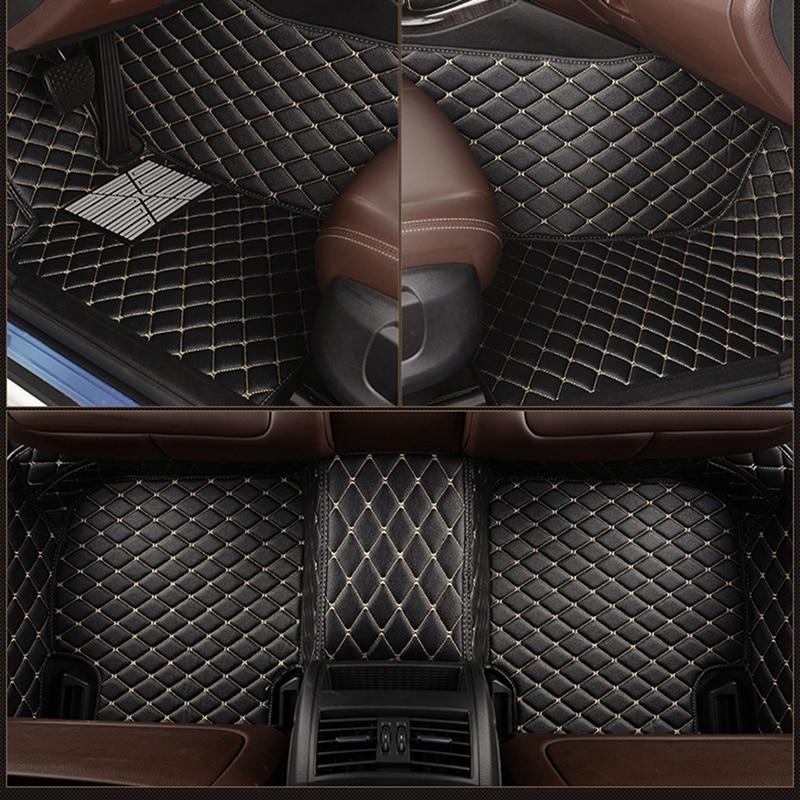 سجادة أرضية جلدية مخصصة لسيارات bmw ، 5 مقاعد ، مدمجة ، قابلة للتحويل ، E36 ، E93 ، E46 ، E92 ، Touring ، E91 ، f31 ، 3 Series E90 ، F30 ، G20