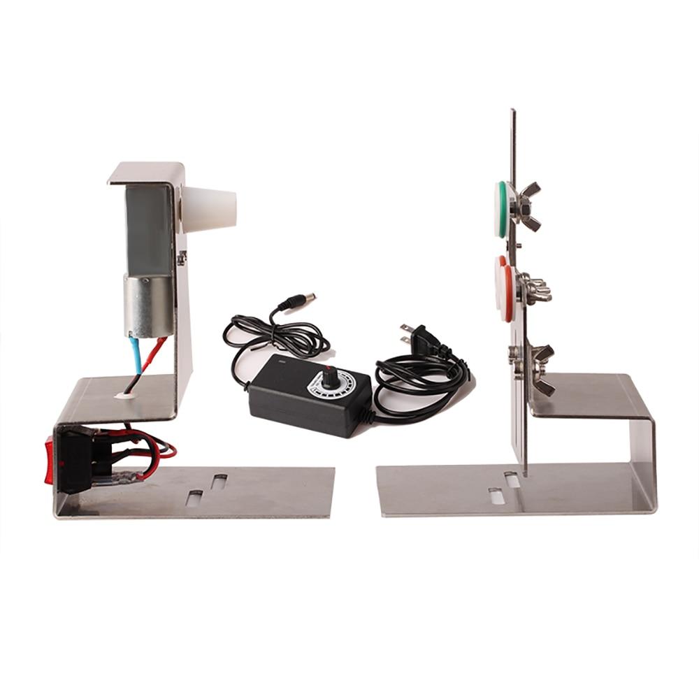 الكهربائية الدورية الصيد رود صنع آلة لف الصيد رود تعديل أداة إصلاح قابل للتعديل Lure بها بنفسك إغراء قضيب آلة لصق