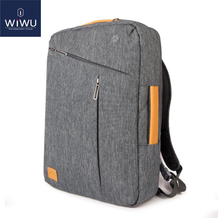 WIWU-حقيبة ظهر للكمبيوتر المحمول 2020 16 17.3 15.6 ، حقيبة جلدية مقاومة للماء لجهاز Macbook Pro 15 16 ، 15.4