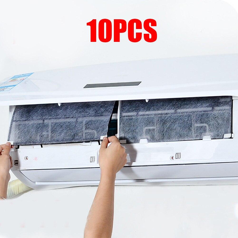 Фильтр для кондиционирования воздуха 10 шт. можно разрезать бытовой пыленепроницаемый кондиционер освежитель воздуха