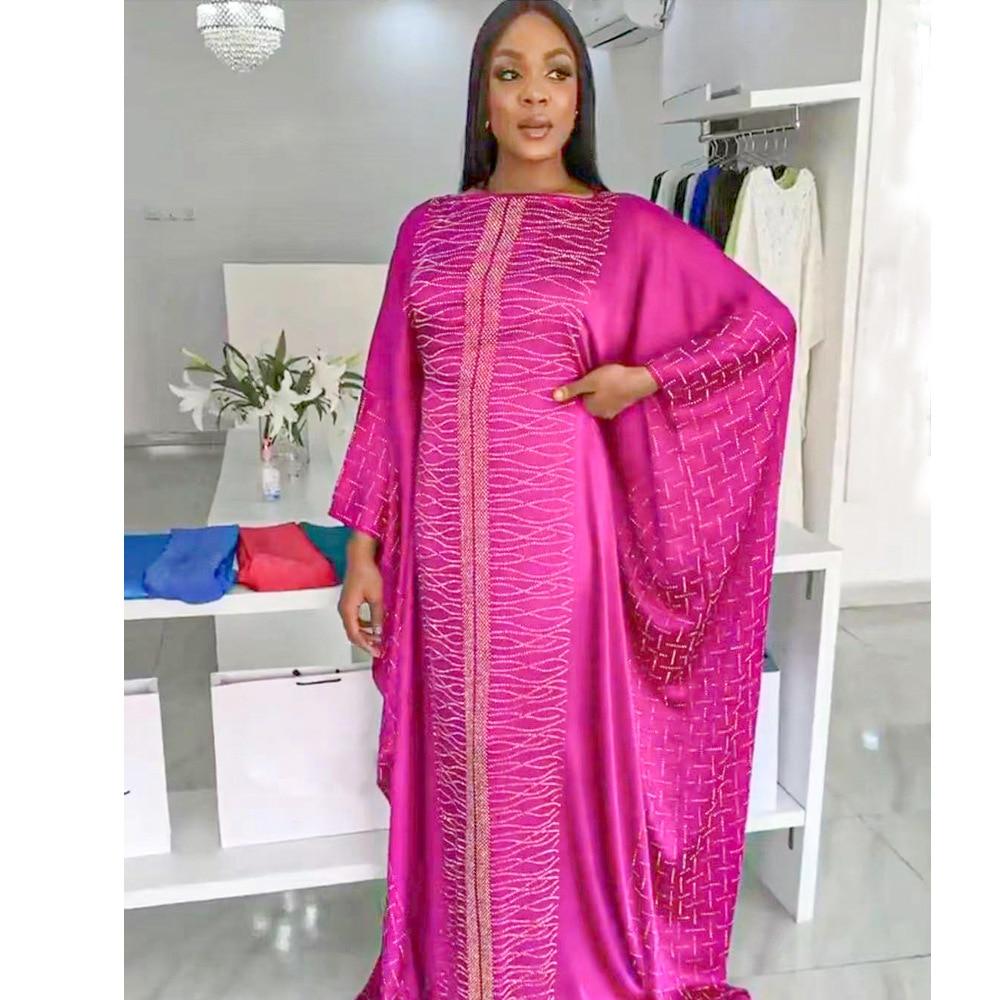 فساتين إفريقية نسائية تقليدية Dashiki Vetement فام 2021 بازن الثراء أنقرة رداء حجم كبير فستان الحفلات المسائية