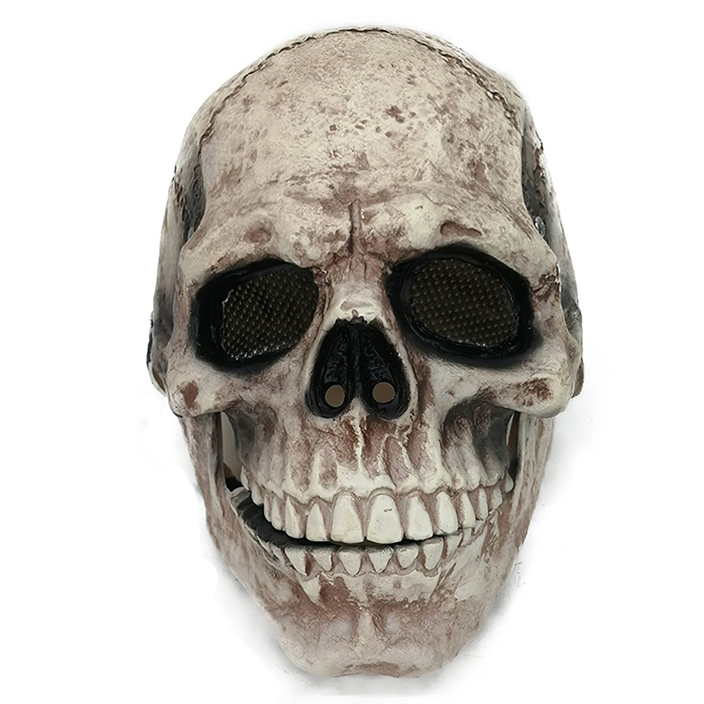 Halloween Mask Movable Jaw Full Head Skull Mask Halloween Decoration Horror Scary Mask Cosplay Party Decor 2021 Skull Helmet