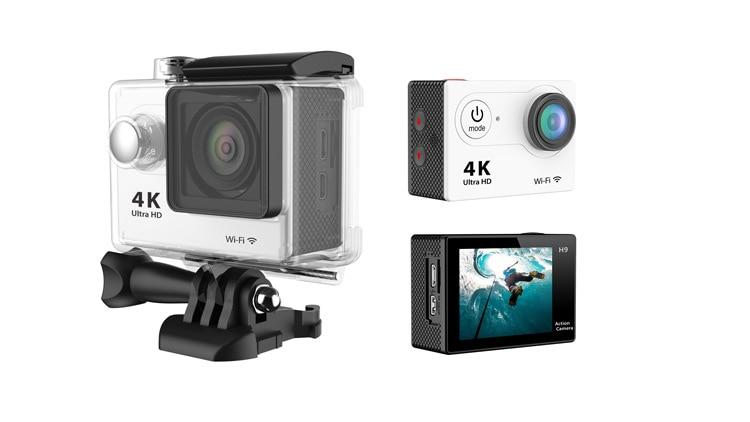 H16 عمل كاميرا الترا HD 4K / 30fps واي فاي 2.0