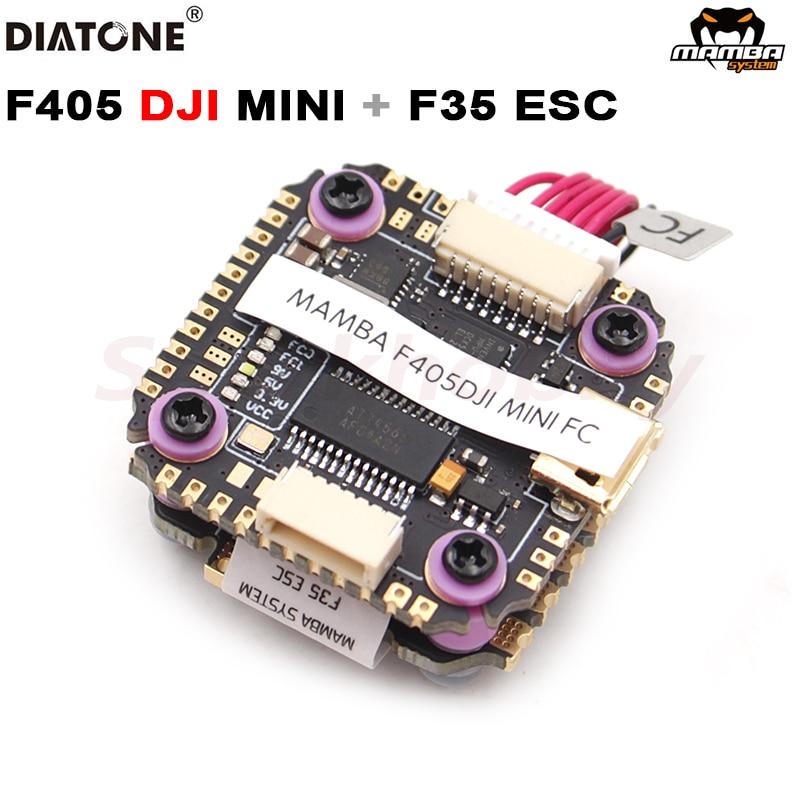 Diatone مامبا F405DJI MINI F4 وحدة تحكم في الطيران FC F35 35A 4in1 ESC سرعة تحكم betafly 6s يبو كومة FPV سباق بدون طيار