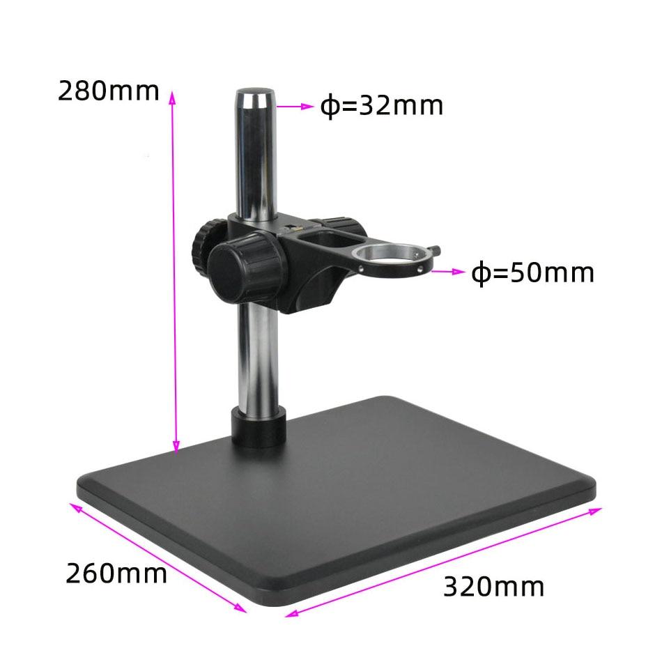 Full HD 2K 1080P Sony Sensor 2D 3D Video Microscope Camera HDMI-compatible Measurement Magnifier Precision Hardware SMT Testing