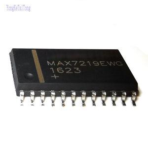 5 шт., новые оригинальные модели MAX7219CWG MAX7219EWG max7220 MAX7219EWG + T 7219 SOP24