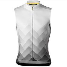 Summer 2019 Mavic Pro Team Men Sleeveless Cycling T-shirt Cycling Clothing MTB Breathable Quick Dry