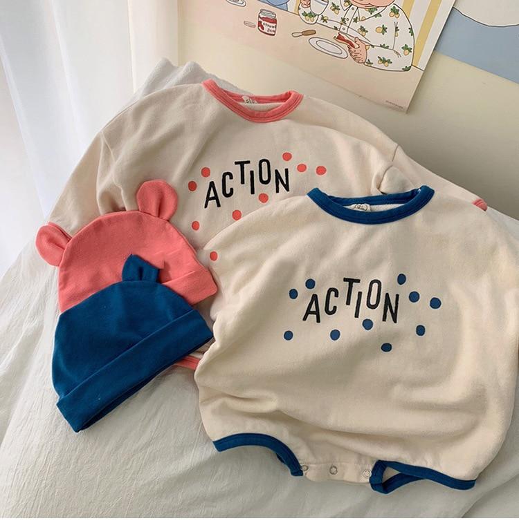 Koodykids 2020 peleles de primavera para bebés con sombrero, peleles para bebés, Jumpersuit para otoño, ropa para niños pequeños de manga larga