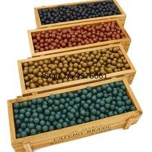 100 PCS/lot chasse fronde munitions balle fronde perles portant de boue perles munitions solide planche à dessin balle argile boue boule