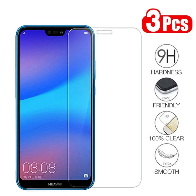1-3Pcs/lot Phone Screen Protector for Huawei Mate 10 PRO 20 Lite 9 8 9H Premium Tempered Glass for Huawei Nova 4E 4 3i 2i 2 Plus