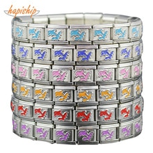 Hapiship 2019 Man/Women's Jewelry 6 Color 9mm Dolphins Stainless Steel Wish Fashion Bracelet Bangle Friend Birthday Gift G045