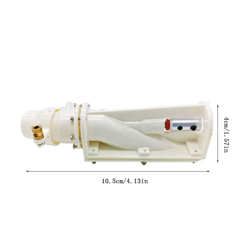 RC Boat Pusher Water jet Pump Spray Water Thruster DIY Accessories for 380-390 brush motors/ 2040-2445 brushless motors enlarge