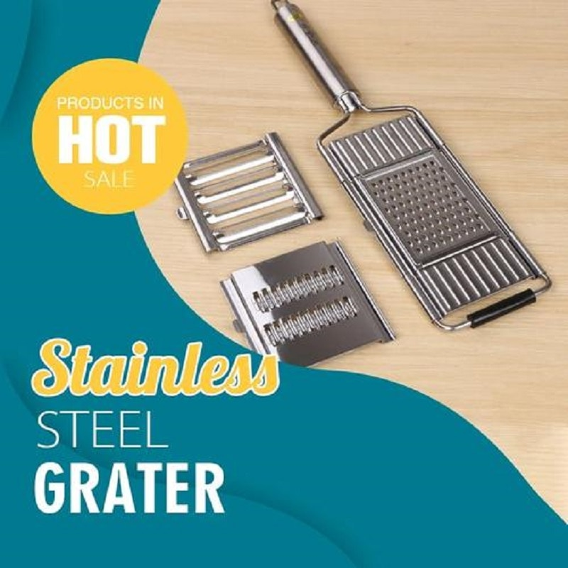 Trituradoras de cuchillas multiusos para verduras, rallador de acero inoxidable, rallador de pelador de zanahorias y frutas, accesorios de cocina
