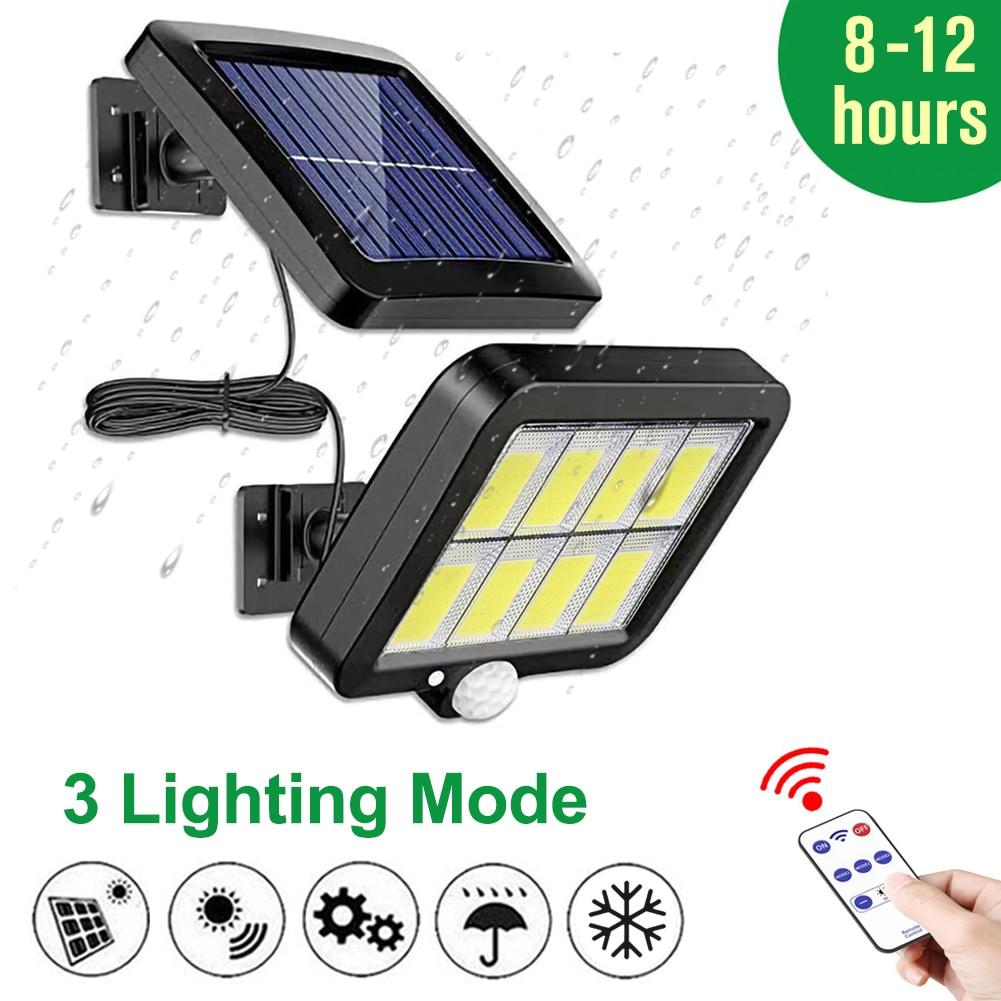 Solar LED Light Outdoor For Garden Led Solar Lamp Outdoor/indoor Waterproof Garden/Garage Decoration Garage Light 3Modes Control