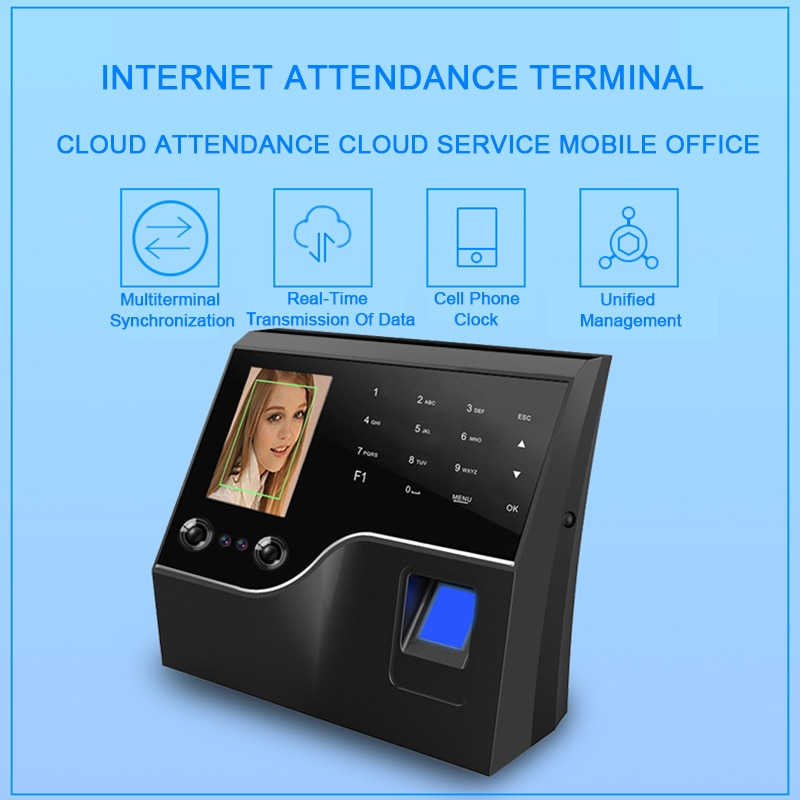 Eseye Biometric Attendance System Face Recognition Employee Attendance Registration Work Time Access