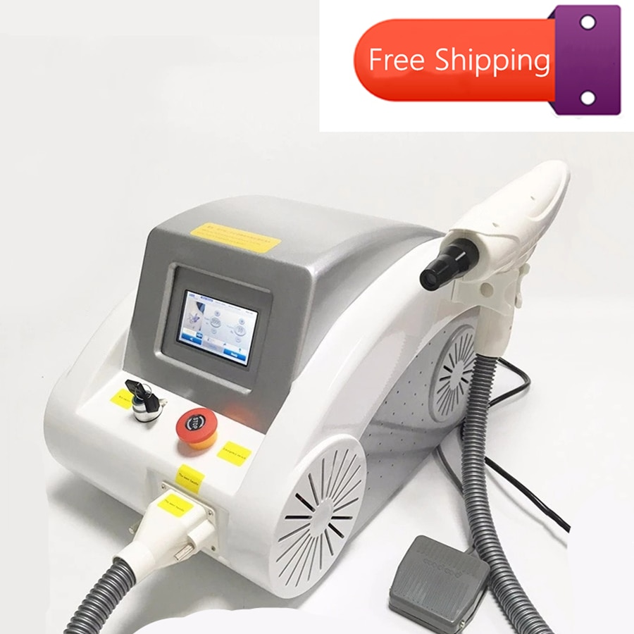 Portable picosecond Laser Tattoo Removal Machine 532nm 1032nm 1064nm Q-switch  ND Yag Laser Speckle Removal Device