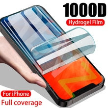 1000D Full Cover Hydrogel Film For iPhone 12 Pro Max 11 XS XR X 12Mini Screen Protector For iPhone 1