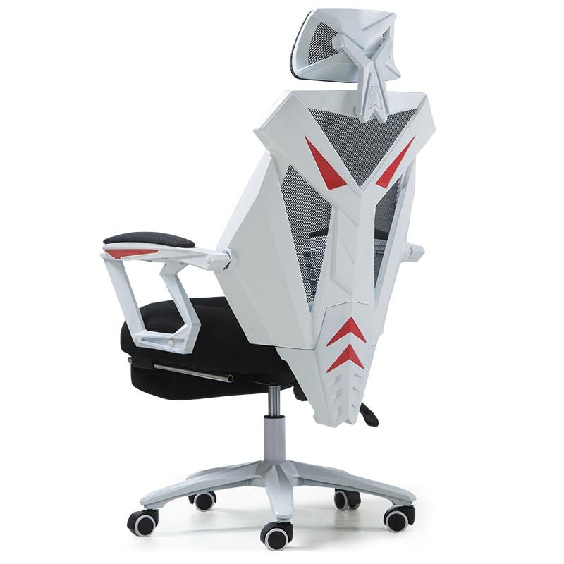 Cadeira giratória para jogos, ergonômica, escritório, computador, casa, silicone, confortável