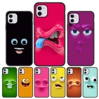 case for iphone 11 cases silicon phone funda iphone 12 13 pro max mini 7 8 plus xr xs max x se 2020 6 6s 5 5s cute smile covers