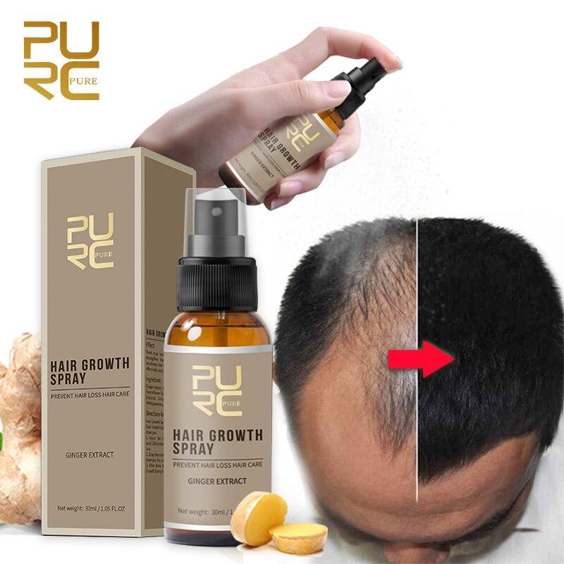 PURC Hair Growth Products Fast Growing Hair Oil Hair Loss Care Spray Beauty Hair & Scalp Treatment for Men Women 30ml