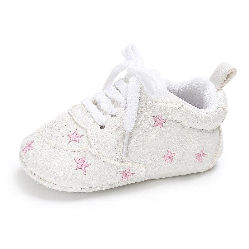 Shoose Star zapatillas para niños Zapatos Niño pequeño bebé niña recién nacida corazón Casual chico primeros pasos con cordones bonito regalo de cumpleaños
