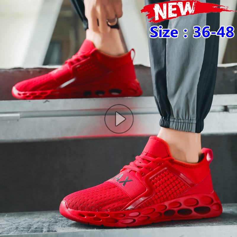 2021 New Men Casual Running Shoes Outdoor Sports Fashion Breathable Lightweight Tennis Mens Sneakers Zapatillas Hombre