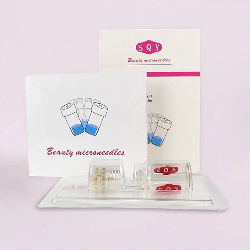 20 Pin Micro titanium needle tips Derma needles skin care Anti aging whitening bottle reusable Skin Care Tool