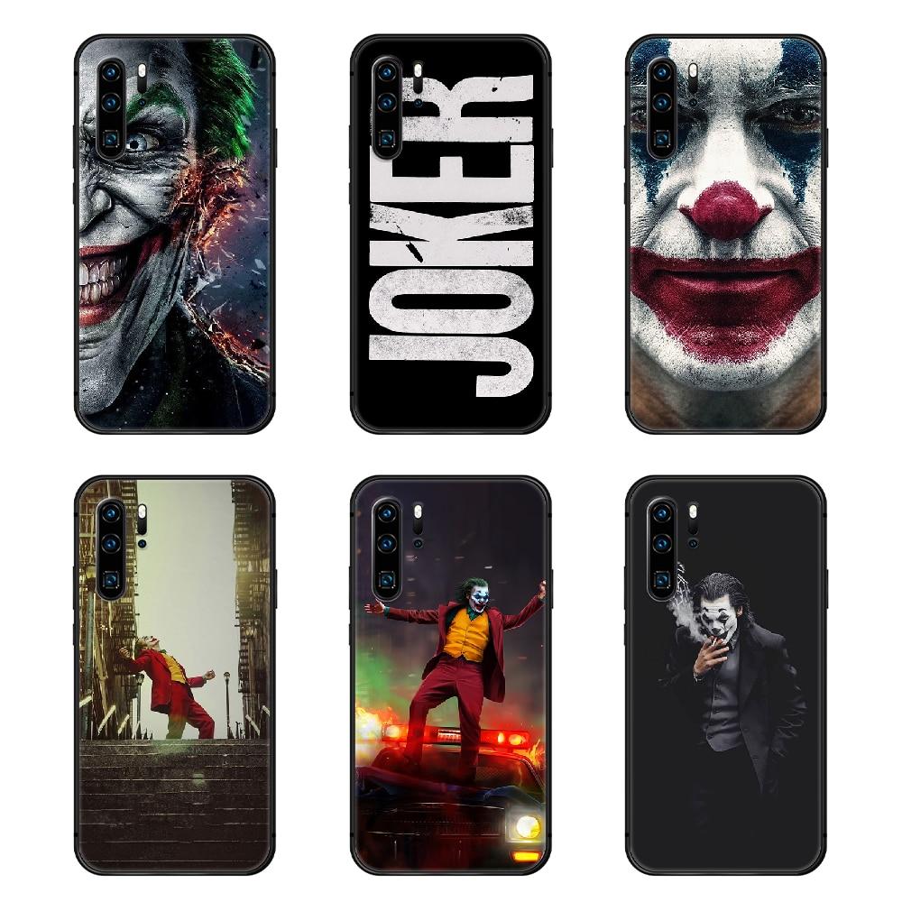 Чехол для Телефона DC joker, Корпус Корпуса Для Huawei P8 P9 P10 P20 P30 P40 Lite Pro Plus smart Z 2019, Черный Модный художественный чехол