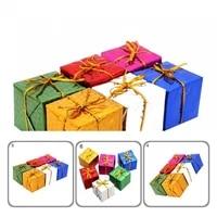 portable good xmas tree ornaments gift box practical gift box pendants eco friendly for dorm