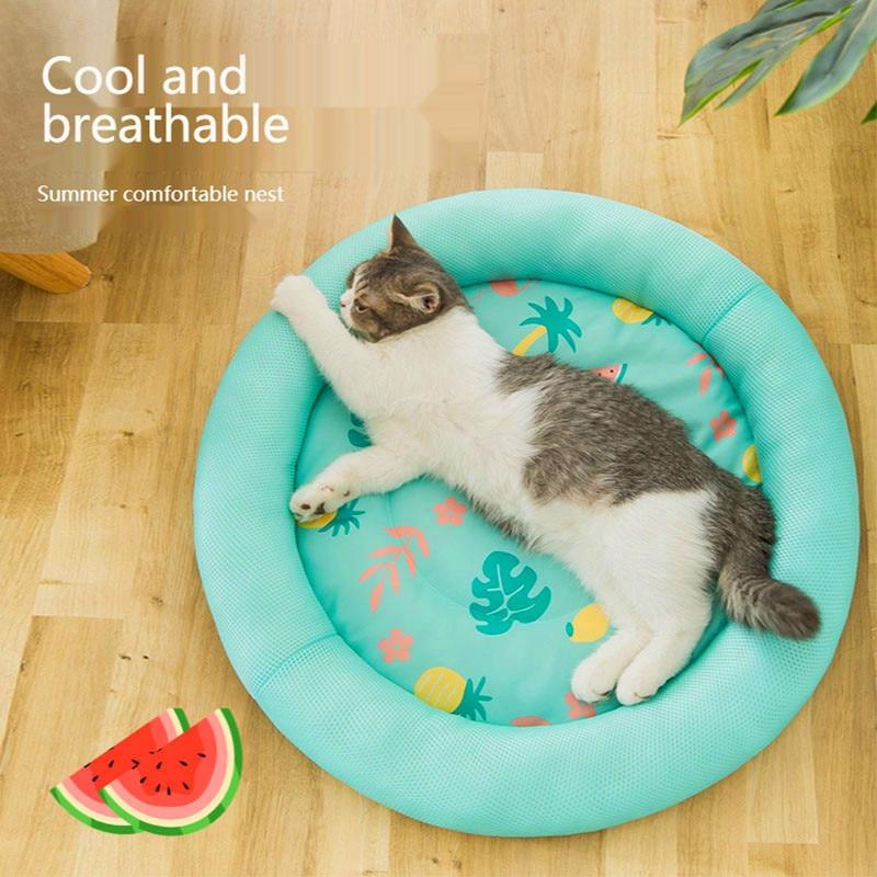 Colchoneta para dormir en verano para perro, colchoneta para perro, gato, Perrera...
