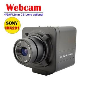 Low illumination SonyIMX291 USB2.0 Webcam HD 2MP 1080P MJPEG USB Camera with Manual CS 4/6/8/12MM Lens Opational For PC Computer