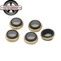 5pcs oil seal ring 06h103081e oil filter mesh camshaft mount oil filter mesh kit for vw golf jetta passat tiguan audi a4 a5 q5