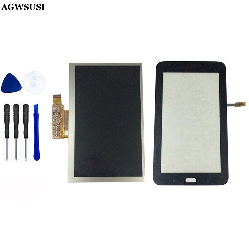LCD para Samsung Galaxy Tab 3 Lite 7,0 T113 SM-T113 pantalla LCD Sensor de cristal pantalla táctil digitalizador reemplazo